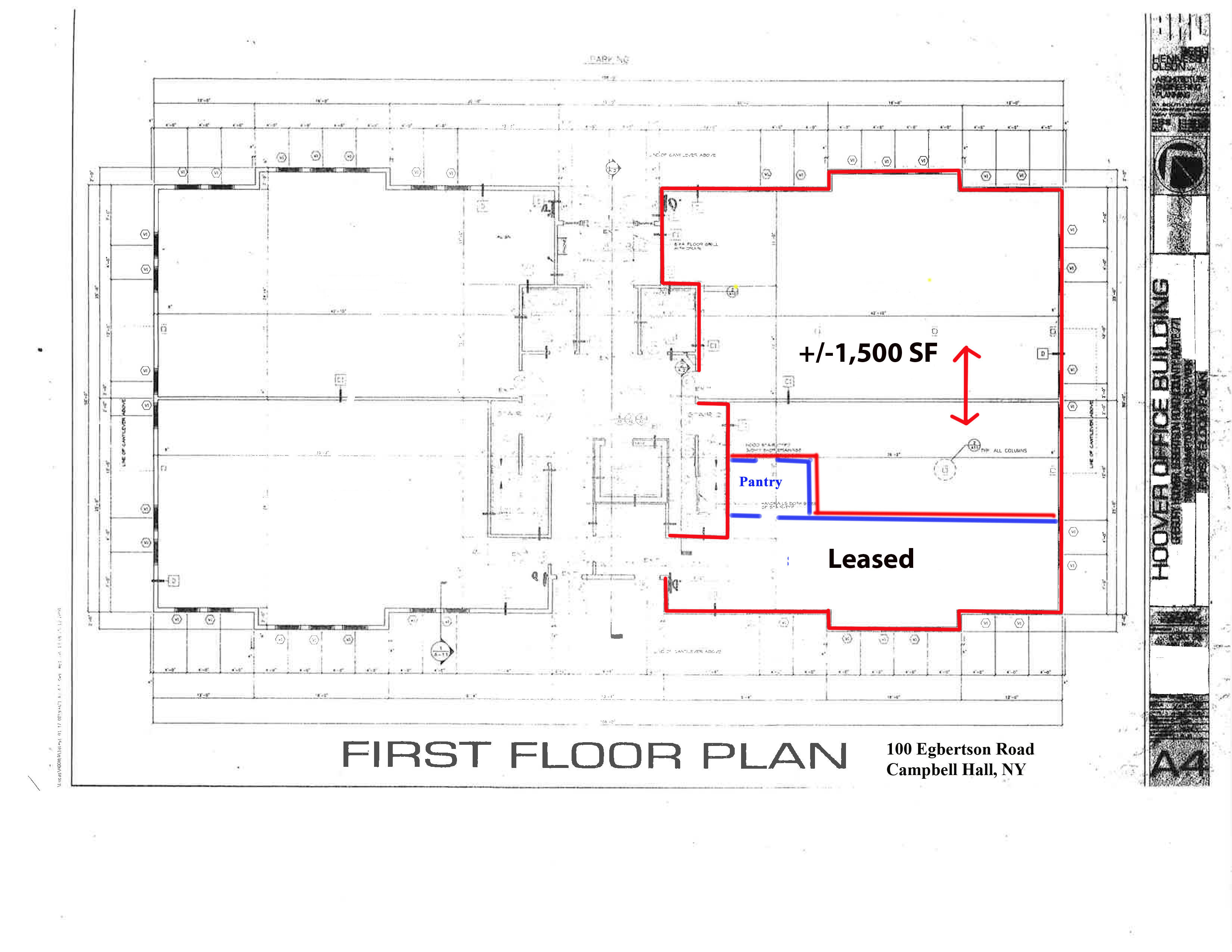 Office space for lease 100 egbertson road campbell for Floor sheet for office
