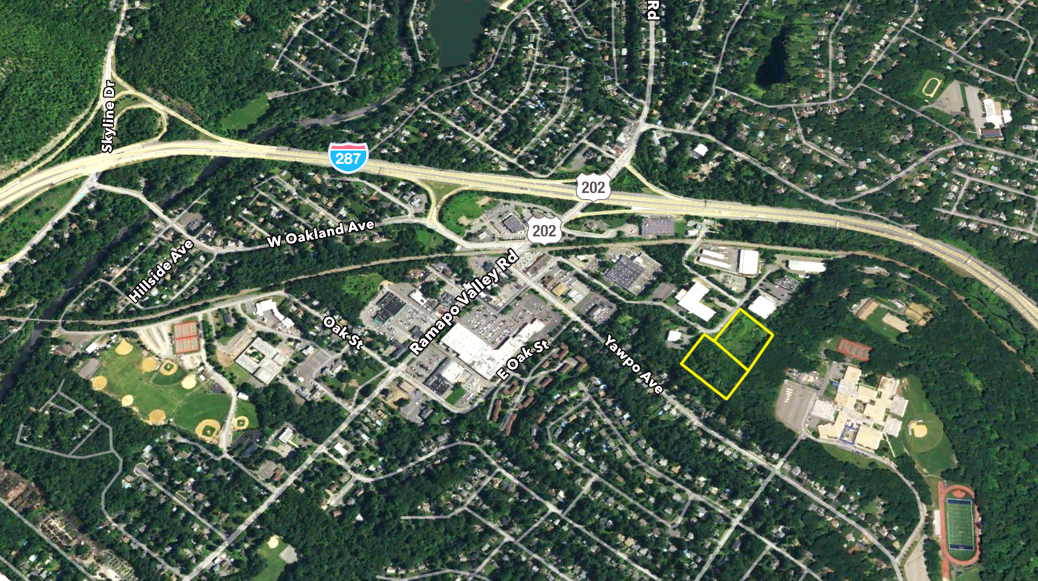 6.36 Acres of Industrial Zoned Vacant Land – 8 & 9 Raritan Road, Oakland, NJ 07436