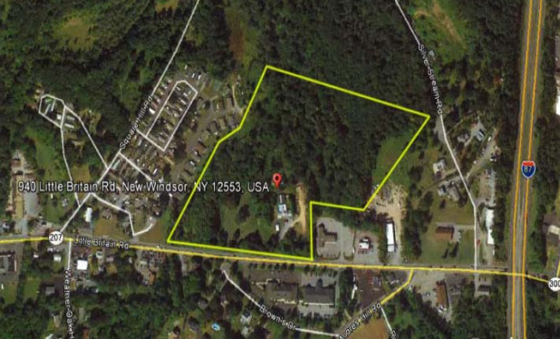 3.1 Acres of Light Commercial Land – 940 Little Britain Road, New Windsor, NY 12553