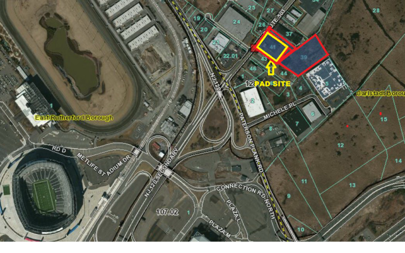 1.8 Acre Retail Pad – 333-345 Washington Avenue, Carlstadt, NJ 07072