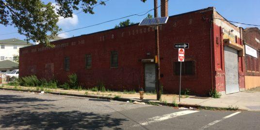 Single Story Industrial Building – 27 Frelinghuysen Avenue Newark, NJ 07114