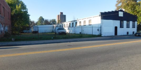 Single Story Industrial Building – 188 Lafayette Street Paterson, NJ 07501