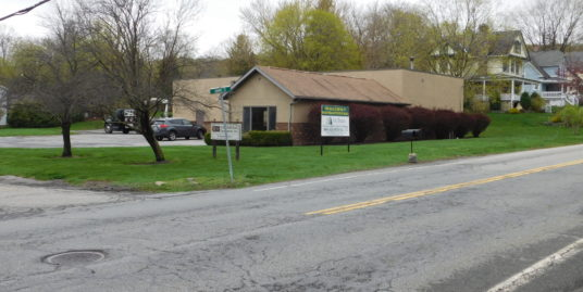 DRAMATIC PRICE REDUCTION! Single-story, Industrial/Office/Flex Bldg. – 19 Adams St. Highland Mills, NY