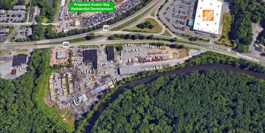 10 +/- Acres Useable – 65 Route 46 East, Pine Brook/Montville, NJ  07058