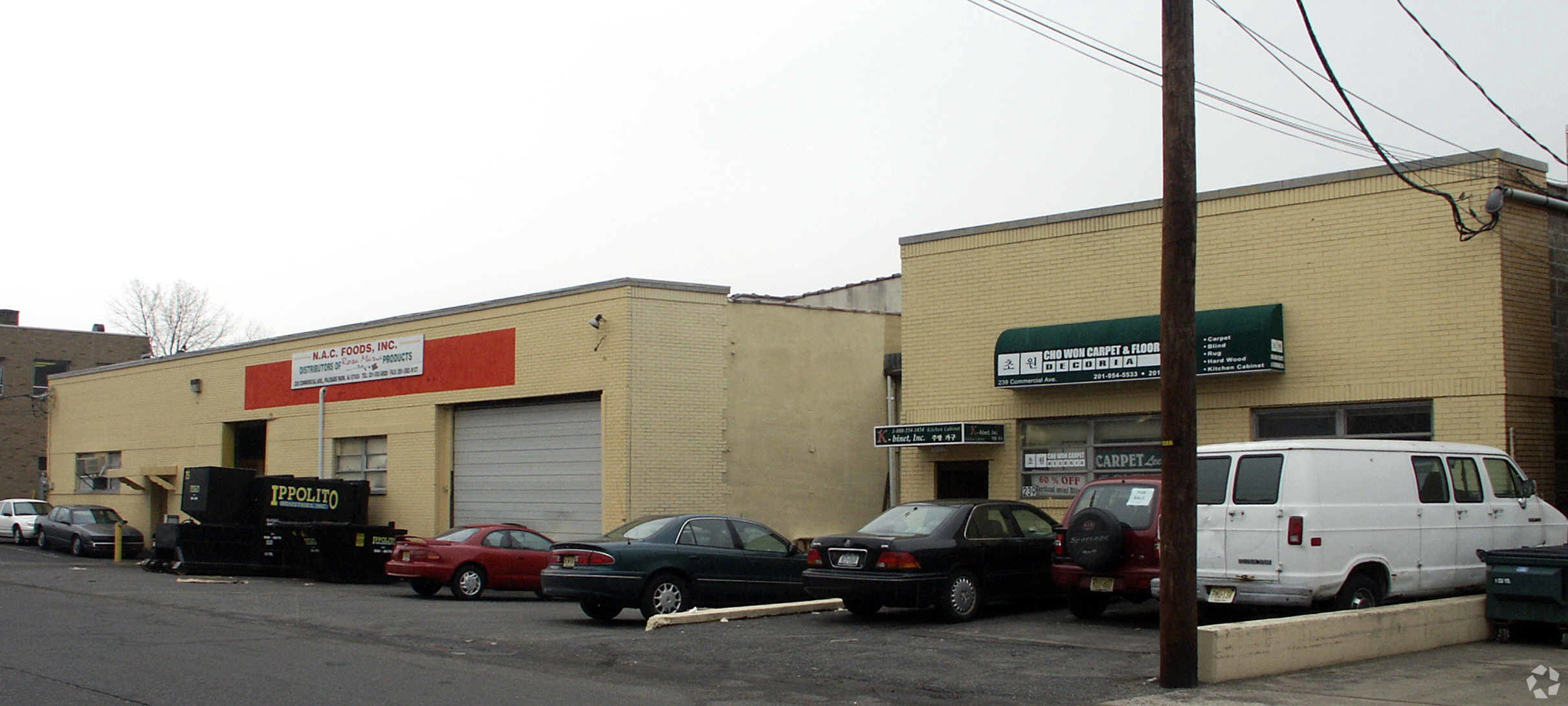 Prime Warehouse or Light Manufacturing Building – 239 Commercial Ave., Palisades Park, NJ  07650
