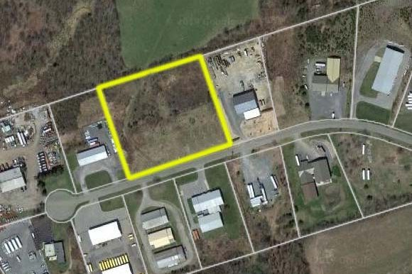 Photo_14 and 16 Industrial Drive Goshen_Aerial highlighted yellow #2